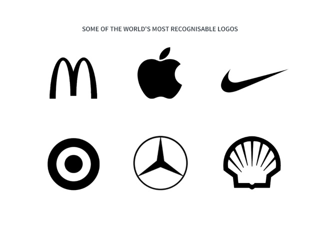 recognisable brand logos from large companies