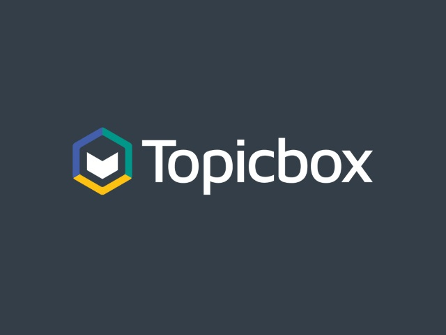 The final Topicbox logo